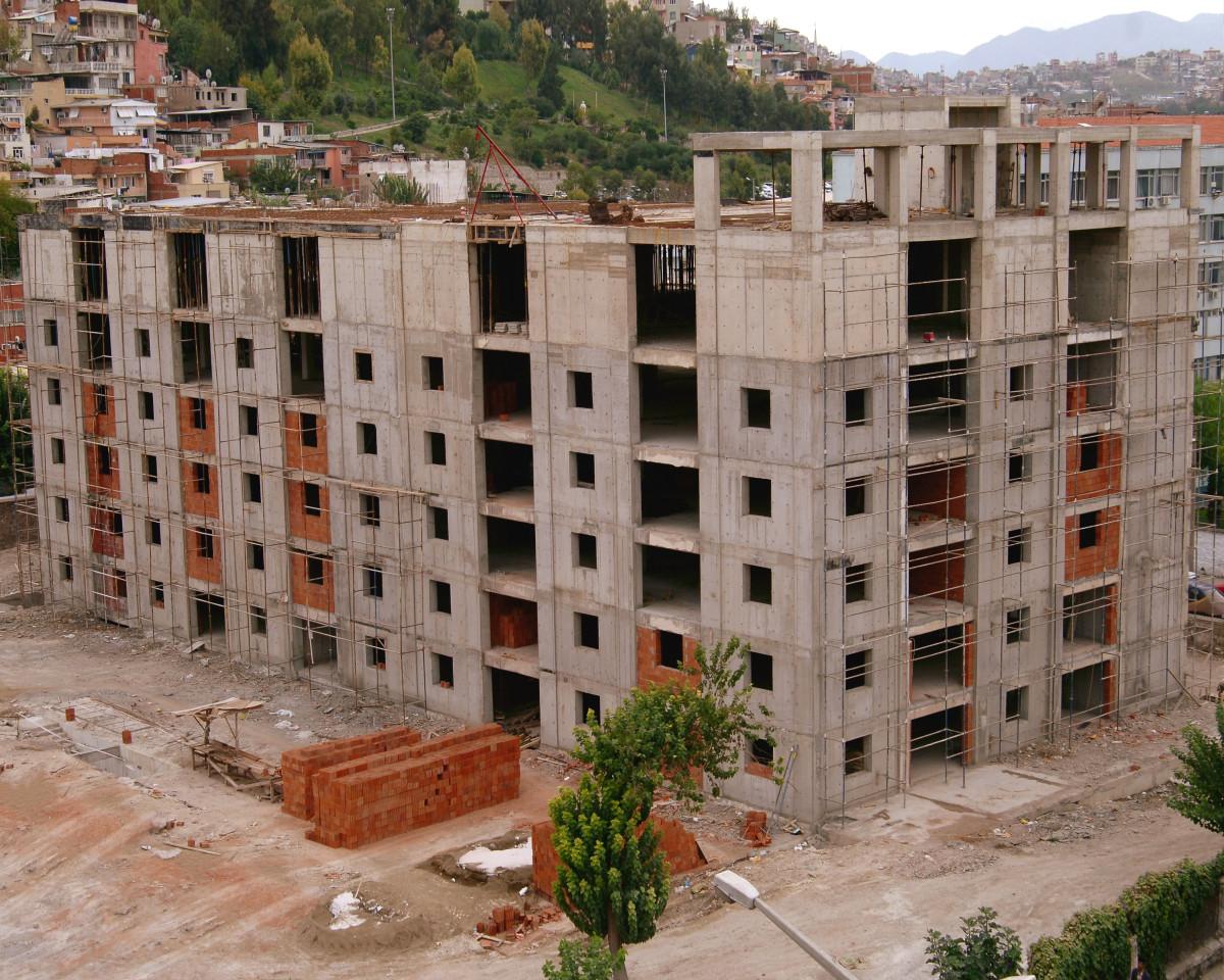 Özel Martı Hastanesi Güçlendirme İnşaatı 2009