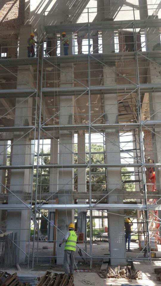 """Şaraphane Güçlendirme-""""Restorasyon""""-İnşaatı 2016"""